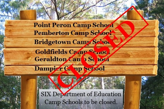 School camps to close