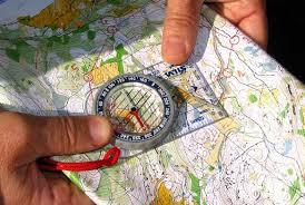 compass map orienteering