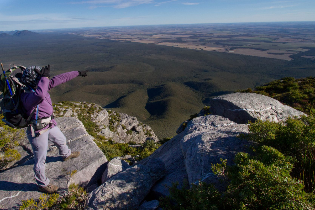 Hiking in the Stirling Ranges